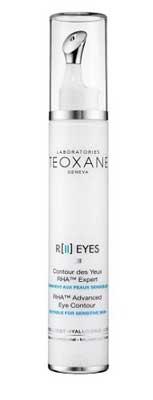 R II Eyes - Teoxane - Skincare for wrinkles, lines. Beauty enhancement, anti-aging, anti-wrinkle, RHA, hyaluronic acid, collagen.