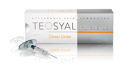 Teosyal Deep Lines - Dermal Fillers for dermatology, cosmetology, dentists. Beauty Treatment, Procedure with dermal fillers in Cyprus